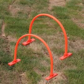 """2 cages arches de précision de tir Ht.40 x l. 50 cm """"spécial football"""" - D-Work"""