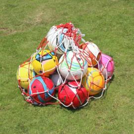 Sac de rangement filet maillé pour ballons de football, basketball jusqu'à 15 pièces - D-Work