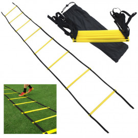 Echelle de rythme/vitesse 6 mètres 12 sections ajustables x l. 42 cm x ép. 0,5 mm - D-Work