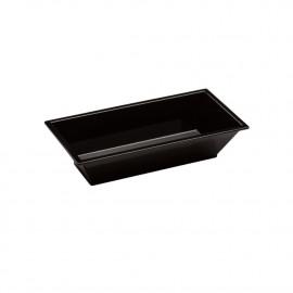 25 raviers rectangulaires 2,5 cl de 87 x 43 x Ht. 20 mm réutilisable, recyclable 100% Français - Noir - D-Work