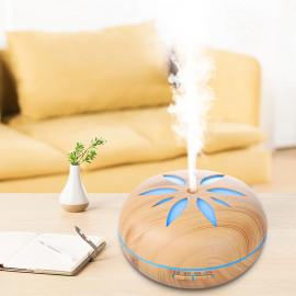 Diffuseur d' huiles essentielles ultrasonique 500ml 230V FLO Light bluetooth, télécommande, 7 couleurs - D-Work