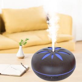 Diffuseur d' huiles essentielles, humidificateur ultrasonique 500ml 230V FLO Dark bluetooth, télécommande, 7 couleurs - D-Work