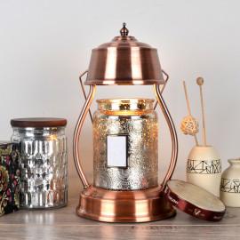 """Lampe chauffante pour bougie candle warmer """"CLARA 501"""" lampe GU10 230V à variateur pour bougie parfumée Ht. 16 cm - D-Work"""