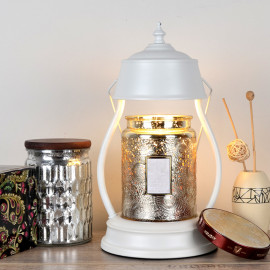 """Lampe chauffante pour bougie candle warmer """"CLARA 502"""" lampe GU10 230V à variateur pour bougie parfumée Ht. 16 cm - D-Work"""