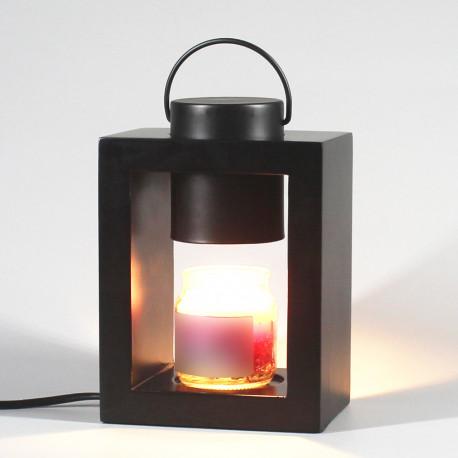 """Lampe chauffante pour bougie candle warmer """"CLARA 505B"""" lampe GU10 230V à variateur pour bougie parfumée Ht. 10 cm - D-Work"""