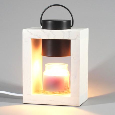 """Lampe chauffante pour bougie parfumée candle warmer Ht. 10 cm """"CLARA 505W"""" ampoule GU10 230V à variateur - D-Work"""