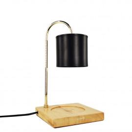 """Lampe chauffante pour bougie candle warmer """"CLARA 507"""" lampe GU10 230V à variateur pour bougie parfumée Ht. 10 cm - D-Work"""