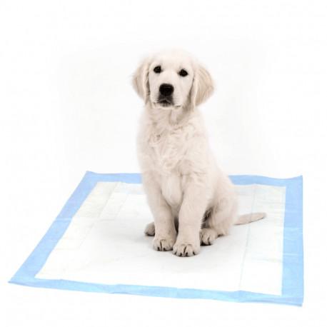 30 tapis d'apprentissage d'hygiène jetables 60 x 60 cm pour chiens/chiots - DM03 - Happet