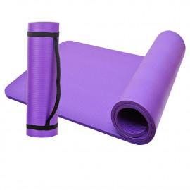 Tapis de sol gymnastique/ fitness / yoga 183 x 61 x 1 cm en NBR (Violet) - D-Work