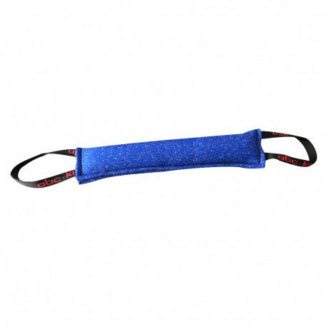 Boudin de débourrage chiots 45 x 10 cm en coton synthétique à 2 poignées pour sport canin - 060-BLUE - ABC Sport Klin