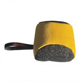 Balle de rappel/motivation D. 200 mm en coton synthétique à poignée pour sport canin - 1324 - ABC Sport Klin