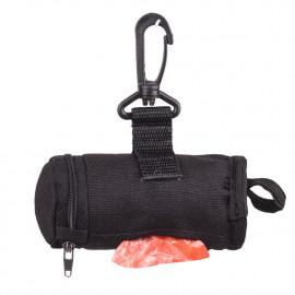 Pochette nylon distributrice de sacs à excréments pour chien avec attache ceinture ( sans sacs) - WR01 - Happet