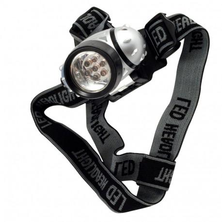 Lampe frontale 1-7 Led pour course, randonnée - 812878 - Beast