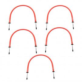 """5 arches/haies obstacles de précision Ht.40 x l. 50 cm """"spécial football"""" - D-Work"""