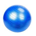 Ballon de gymnastique / fitness / grossesse anti-éclatement D. 65 cm en PVC (Bleu) - D-Work