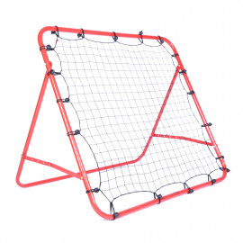 "Cage cadre métal mur à rebond avec filet 1 x 1 M inclinable ""spécial football"" - D-Work"